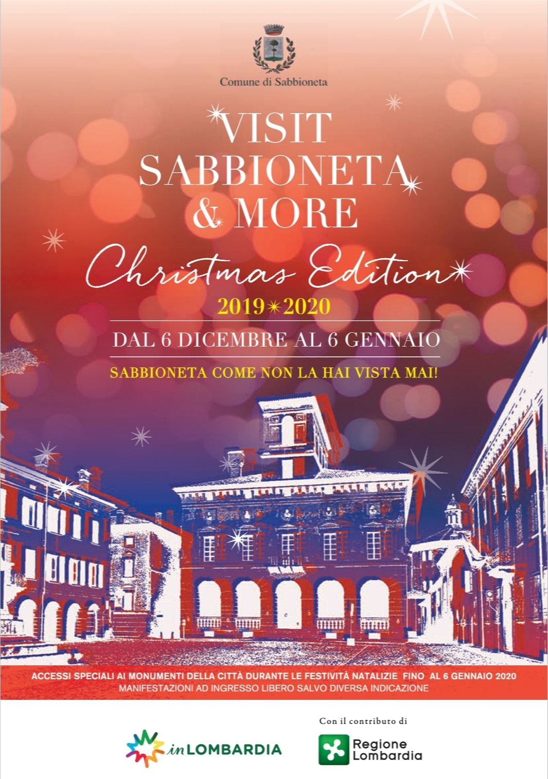 🎄   Visit Sabbioneta and More - Christmas Edition 2019/2020    🎄